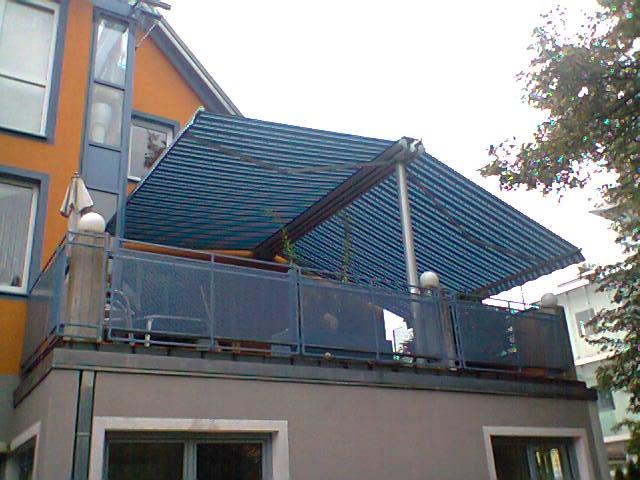 Doppelmarkise Balkon